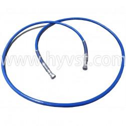 2M whip hose|—PH1/4-24N